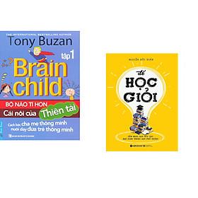 Combo 2 cuốn sách: Tony Buzan - Bộ Não Tí Hon Cái Nôi Của Thiên Tài (Tập 1) + Để Học Giỏi