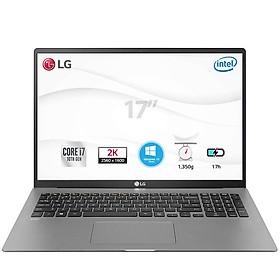 Laptop LG Gram 2020 17Z90N-V.AH75A5 (Core i7-1065G7/ 8GB/ 512GB NVMe/ 17 WQXGA IPS (2560*1600)/ Win10 Home Plus/ Silver) - Hàng Chính Hãng
