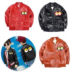 Áo khoác da Quảng Châu cho bé trai 01270-01272