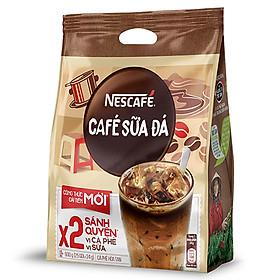 Cà phê hòa tan Nescafé 3in1 Cà Phê Sữa Đá 600G ( Bịch 25 Gói x 24g )