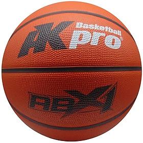 Bóng rổ cao su AKpro ABX1 màu Cam