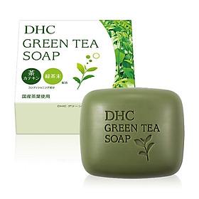 Xà Phòng Rửa Mặt Trà Xanh DHC Green Tea Soap 80g