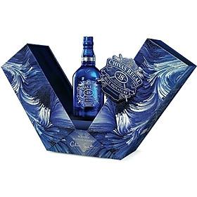 Rượu Whisky Chivas Regal 18 Blue Signature 750ml 40% - Phiên Bản Hộp Quà Tết 2021