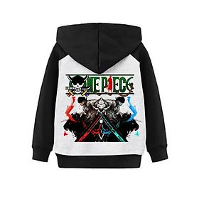 Áo Khoác Chống Nắng Cho Bé One Piece Zoro Đảo Hải Tặc