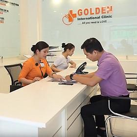 Gói khám tiêu chuẩn toàn diện cho nam tại phòng khám đa khoa quốc tế Golden Healthcare