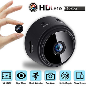 Camera mini A9 FullHD 1080p IP wifi kết nối với điện thoại, quay ban đêm