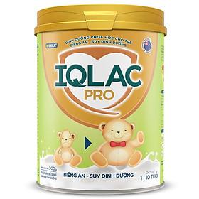 Sản phẩm dinh dưỡng sữa bột IQLac Pro Biếng ăn - Suy dinh dưỡng 400g
