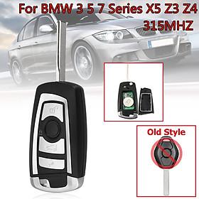 Car Smart Flip Remote Key Fob 315MHZ For BMW EWS E38 E39 E46 X5 Z3 HU92