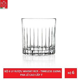 Bộ 6 ly rượu pha lê Ý RCR Timeless 310ml