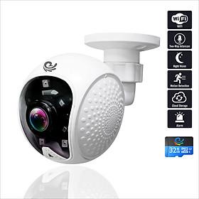 Camera Ip Wifi Quan Sát Gắn Tường Model CC5021, Góc Nhìn Cực Rộng, Độ Phân Giải 2.0Mpx FULL HD, Hình Ảnh Rõ Nét, Kèm Thẻ 32Gb - Chính Hãng