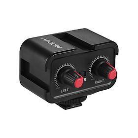Bộ Chuyển Đổi Âm Thanh Micro Kênh Đôi 3.5 mm Andoer WS-VS Cho Máy Quay Phim Canon Nikon Sony DSLR