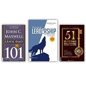 Bộ sách cẩm nang lãnh đạo KZ : Leadership + 101 Lãnh đạo + 51 chìa khóa vàng để trở thành nhà lãnh đạo truyền cảm hứng