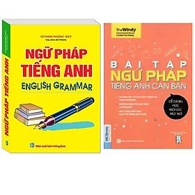 Combo Ngữ Pháp Tiếng Anh English Grammar (Sách 4 Màu)+Bài Tập Ngữ Pháp Tiếng Anh Căn Bản (Tái bản 2020)
