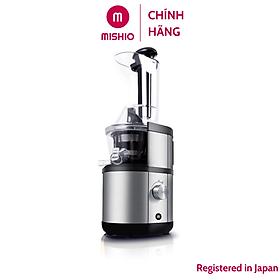 Máy ép trái cây Slowjuicer công suất lớn Mishio OJ6-Fruitberry-S 400W - Hàng chính hãng