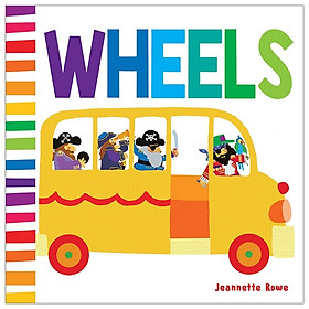 Baby Board Book Wheels
