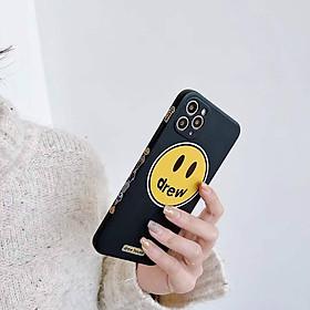 Case Ốp Lưng Mặt Cười Drew Dành Cho Iphone 11, iPhone 11 Pro Max, iPhone 12, iPhone 12 Pro, iPhone 12 Pro Max