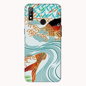Ốp lưng điện thoại Realme 3 hình Cá Chép Hóa Rồng - Hàng chính hãng