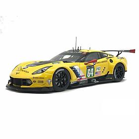 Xe Mô Hình Chevrolet Corvette C7.R Le Mans 24 Hrs 2016 #64 Autoart - 81604 (Vàng)