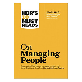 Harvard Business Review's 10 Must Reads On Managing People