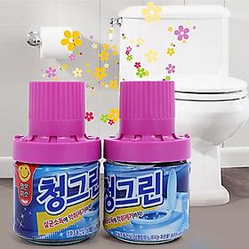 Chai Thả Bồn Cầu Khử Mùi diệt khuẩn rất tiện lợi và sạch sẽ