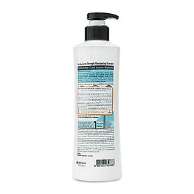 Bộ dầu gội/xả Kerasys Moisture cân bằng độ ẩm cho tóc xơ rồi Hàn Quốc (2x600ml) tặng kèm móc khoá-2