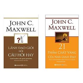 Combo sách để trở thành nhà lãnh đạo giỏi : Lãnh đạo giỏi hỏi câu hỏi hay + 21 Phẩm Chất Vàng Của Nhà Lãnh Đạo ( tặng kèm bookmark Green Life)