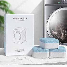 combo 2 Hộp 20 Viên Tẩy Lồng Máy Giặt Dạng Sủi Xuất Xứ Nhật Bản - Vệ Sinh Máy Giặt, Diệt Sạch Vi Khuẩn, Vệ Sinh Lồng Máy Giặt Và Khử Mùi Hiệu Quả
