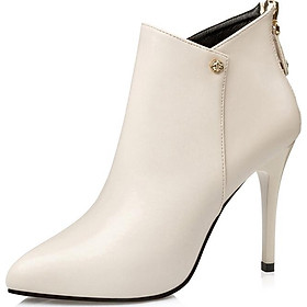 Giày Bốt Cao Gót 10cm Thời Trang Nữ Tính