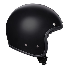 NÓN BẢO HIỂM X70 AGV ASIA SOLID ASIAN FIT MATT BLACK