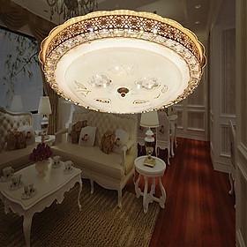 Đèn áp trần ML5027-9 LED 3 màu, hoa văn thiết kế cổ điển