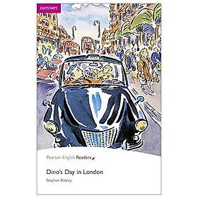 Easystart: Dino's Day In London Book And CD Pack: Easystarts (Pearson English Graded Readers)