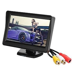 Màn Hình Chiếu Hậu Xe Ô-tô LCD DVD VCR (4.3Inch)
