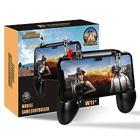 PUBG Mobile Gamepad Joystick Metal L1 R1 Trigger Game Shooter Controller for iPhone Android Phone Mobile Gaming Gamepad