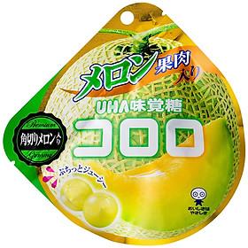 Gói Kẹo Dẻo UHA Cororo Vị Dưa Lưới Nhật Bản 48g