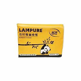 Giấy Ăn Gấu Trúc Lampure Mẫu Mới Siêu Dai (1 Gói)