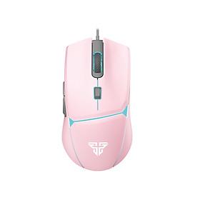 Chuột Gaming Có Dây Fantech VX7 CRYPTO màu hồng 8000DPI LED 4 Màu 6 Phím Macro Có Phần Mềm Tùy Chỉnh Riêng - Hàng chính hãng