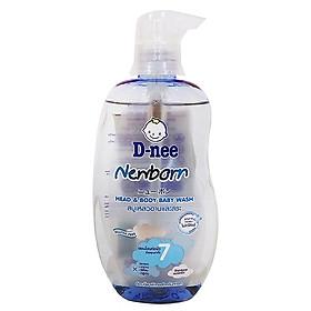 Sữa tắm gội toàn thân D-nee xanh 380g