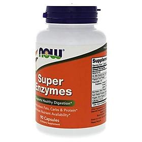 Viên Uống NOW Foods Super Enzymes (90 Viên)