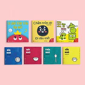 Combo 7 cuốn sách Ehon Điều kỳ diệu của hình khối và Đồ vật quanh bé