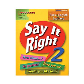 Say It Right 2 With Audio CD