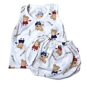 Bộ quần áo côc tay mùa hè 100% cotton hàng việt nam chất vải mềm h in bắt mắt bộ quần ,áo cộc tay cotton  mịn thoáng mát không dị ứng , chất cotton lớp in hình