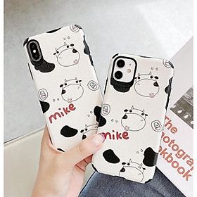 Case Ốp Lưng Dành Cho iPhone 11, 11 Pro Max, iPhone 12, 12 Pro, 12 Pro Max - Bò Sữa
