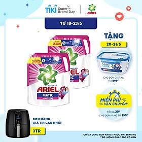 Combo 2 Nước Giặt Ariel Matic Hương Downy 3.2kg