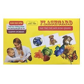 Flash card dạy trẻ thế giới xung quanh