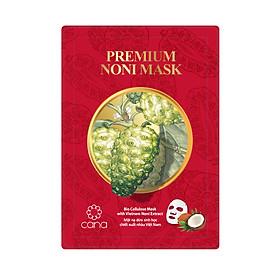 Mặt nạ dưỡng ẩm chống lão hóa chiết xuất trái nhàu cao cấp Cana Premium Noni Mask 30g