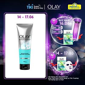 Sữa rửa mặt dưỡng trắng da Olay White Radiance Brightening Foaming Cleanser 100g