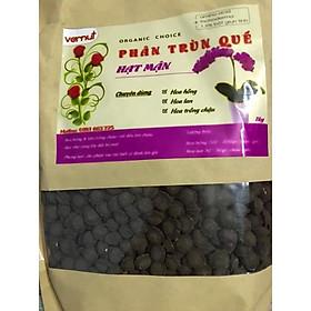 Phân trùn quế viên nén hạt mận tiện lợi tốt cho hoa hồng, hoa lan và các loại cây trồng