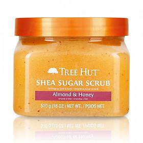Tẩy tế bào chết cơ thể Tree Hut Shea Sugar Scrub Almond & Honey