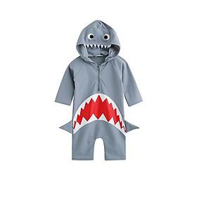 Đồ bơi cá mập dành cho bé, năng động thể thao kiểu dáng bắt mắt dễ mặc Cleacco