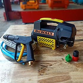 Máy rửa xe mini gia đình DEWALT T2 - Áp lực cao - Chính Hãng